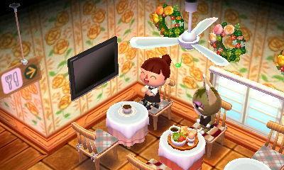 カフェ どうぶつ テーブル な パラソル 森 の